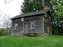 Photo of an old house in Ancaster, Ontario