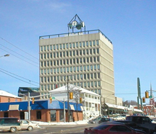 A photo of a building in Barrie, Ontario