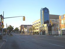 A photo of the uptown in Waterloo, Ontario